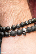 Picture of Pulseira Skull Dupla 01