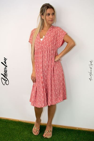 Picture of Vestido LOLA coral