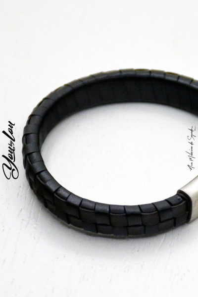Picture of Pulseira Leather Clip 02